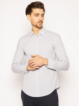 Boss Boss Риза Ronni 50427952 Бял Slim Fit
