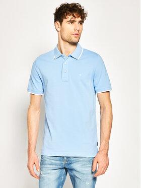 Calvin Klein Calvin Klein Pólóing Tipping K10K104915 Kék Slim Fit