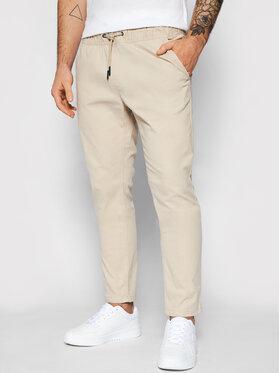 Tommy Jeans Tommy Jeans Bavlnené nohavice Scanton DM0DM10125 Béžová Slim Fit