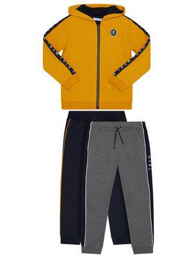Mayoral Mayoral Комплект анцуг 2 чифта панталони и фанела 43 Цветен Regular Fit