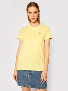 Levi's® Levi's® T-Shirt Perfect Tee 39185-0103 Gelb Regular Fit