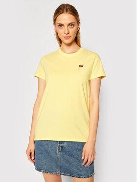 Levi's® Levi's® T-shirt Perfect Tee 39185-0103 Žuta Regular Fit