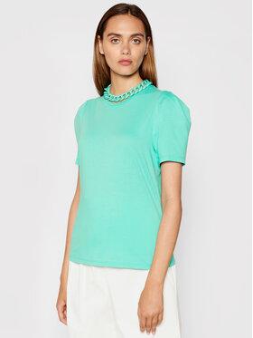 Imperial Imperial Majica TL85BAS Zelena Regular Fit