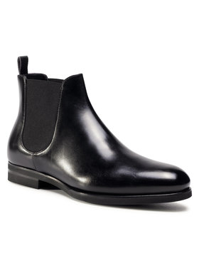 Fabi Fabi Kotníková obuv s elastickým prvkem FU0106A Černá