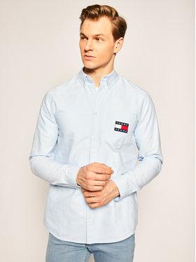 Tommy Jeans Tommy Jeans Πουκάμισο Oxford DM0DM07895 Μπλε Regular Fit