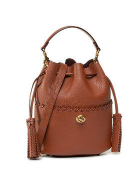 Coach Coach Sac à main Whpstch Lora Bucket 651 B4L4A Marron