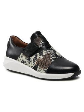 Clarks Clarks Sneakersy Un Rio Strap 261586124 Czarny