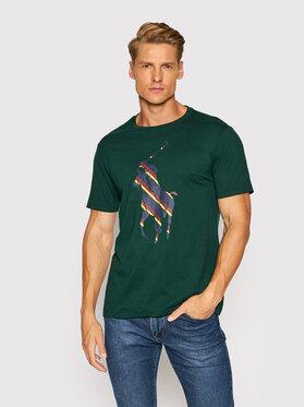 Polo Ralph Lauren Polo Ralph Lauren Póló Ssl 710853276002 Zöld Slim Fit