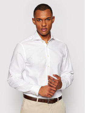Baldessarini Baldessarini Camicia Henry B3 10003/000/4944 Bianco Tailored Fit