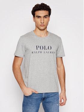 Polo Ralph Lauren Polo Ralph Lauren Marškinėliai Crw 714830278005 Pilka Regular Fit