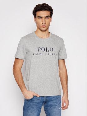Polo Ralph Lauren Polo Ralph Lauren T-shirt Crw 714830278005 Siva Regular Fit