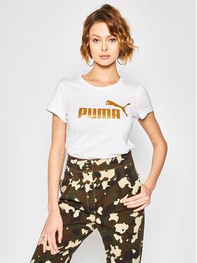 Puma Puma Marškinėliai Ess + Mettallic Tee 582407 Regular Fit