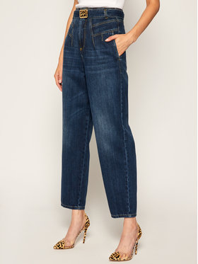 Pinko Pinko Jeansy Carrot Fit Cheryl AI 20-21 PDEN 1J10H3 Y649 Σκούρο μπλε Regular Fit