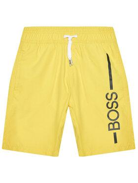 Boss Boss Pantaloni scurți pentru înot J24682 S Galben Regular Fit