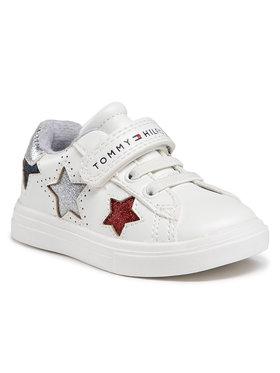 Tommy Hilfiger Tommy Hilfiger Sneakersy Low Cut Lace Up T1A4-31015-0619 M Biały