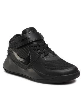 Nike Nike Topánky Team Hustle D 9 Flyease (Gs) Čierna