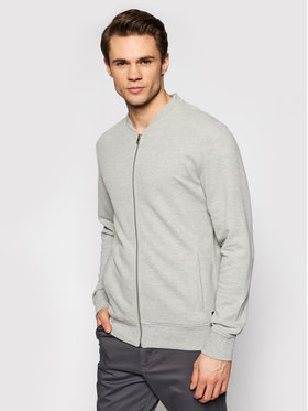 Jack&Jones Jack&Jones Sweatshirt Blaflake Sweat Baseball Bomber 12190138 Grau Regular Fit