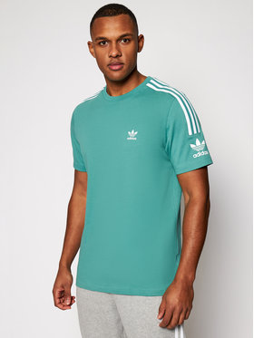 adidas adidas Тишърт Tech FM3799 Зелен Relaxed Fit