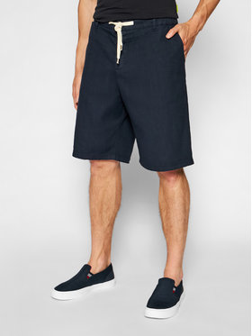 Imperial Imperial Pantaloncini di tessuto D212BJWTD Blu scuro Regular Fit