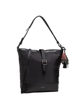 Pepe Jeans Pepe Jeans Handtasche Shopping Bag Pjl Ann 7727661 Schwarz