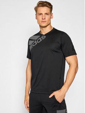 adidas adidas Technisches T-Shirt Freelift Badge Of Sport Graphic DU0902 Schwarz Regular Fit