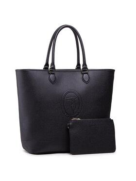 Trussardi Trussardi Sac à main Pre Iris Shopper Lg 75B01099 Noir
