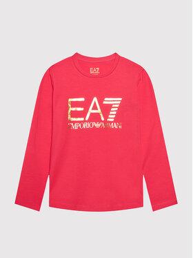 EA7 Emporio Armani EA7 Emporio Armani Блуза 6KFT02 FJ29Z 1406 Розов Regular Fit