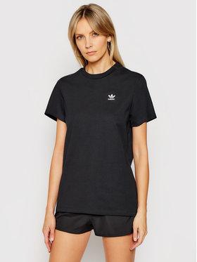 adidas adidas Marškinėliai adicolor Classics GN2919 Juoda Loose Fit