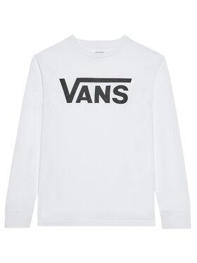 Vans Vans Bluzka Classic Ls VN000XOI Biały Classic Fit