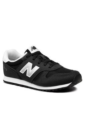 New Balance New Balance Sneakersy YC373KB2 Czarny