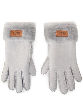Ugg Ugg Rękawiczki Damskie W Turn Cuff Glove 17369 Szary
