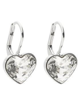 Swarovski Swarovski Boucles d'oreilles Bella Heart 5515191 Argent