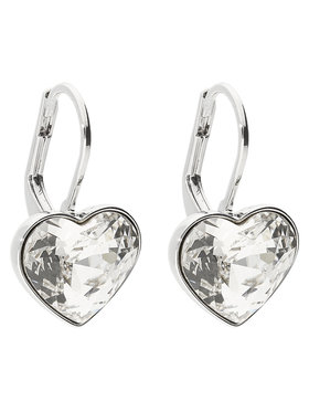 Swarovski Swarovski Ohrringe Bella Heart 5515191 Silberfarben