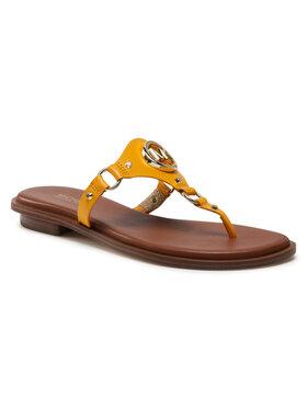 MICHAEL Michael Kors MICHAEL Michael Kors Flip flop Conwnay Sandal 40S1COFA1L Portocaliu