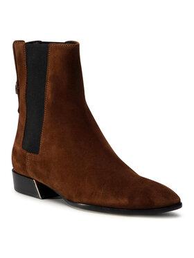 Furla Furla Kotníková obuv s elastickým prvkem Grace YD37FGC-Y61000-03B00-1-007-20-IT Hnědá
