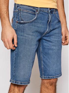 Wrangler Wrangler Pantaloni scurți de blugi Colton W15VJX87V Albastru Regular Fit
