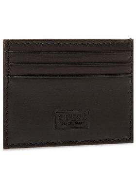 Guess Guess Θήκη πιστωτικών καρτών SLG Recap SMREIL LEA25 Μαύρο