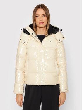 Calvin Klein Jeans Calvin Klein Jeans Pernata jakna J20J216260 Bež Regular Fit
