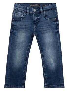 Guess Guess Τζιν N93A04 D3QS0 Σκούρο μπλε Slim Fit