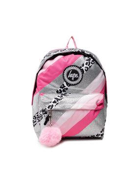 HYPE HYPE Plecak Glitter Leopard Wave BTS21006 Różowy