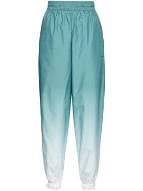 adidas adidas Pantaloni trening adicolor 3D Trefoil GN2850 Verde Loose Fit
