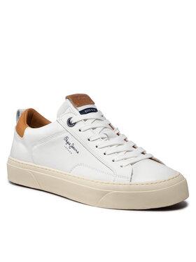 Pepe Jeans Pepe Jeans Sneakersy Yogi Original PMS30784 Bílá