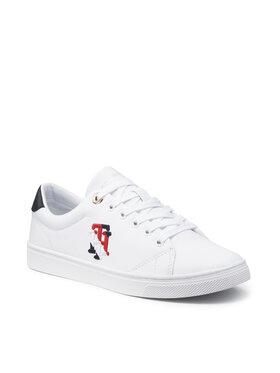 Tommy Hilfiger Tommy Hilfiger Sportcipő Tommy Monogram Casual Sneaker FW0FW05794 Fehér