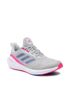 adidas adidas Boty Eq21 Run J H01871 Šedá