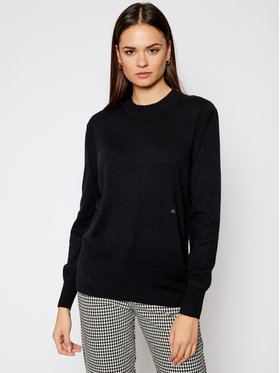 Calvin Klein Calvin Klein Džemper K20K201347 Crna Regular Fit