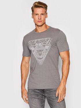 Guess Guess T-Shirt M1YI76 J1311 Szary Slim Fit