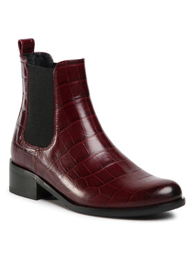 Gino Rossi Gino Rossi Bottines Chelsea 8484-05A Bordeaux