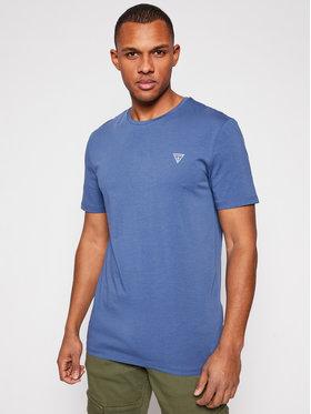 Guess Guess T-Shirt U94M09 K6YW1 Niebieski Regular Fit