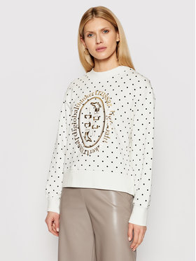 Trussardi Trussardi Суитшърт 56F00131 Бял Relaxed Fit