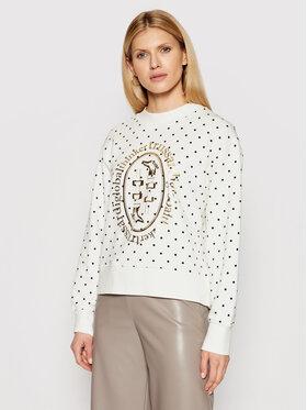 Trussardi Trussardi Sweatshirt 56F00131 Blanc Relaxed Fit